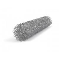 Сетка рабица оцинкованная выс. 1,5м. яч. 50х50, Ø проволоки - 1,6 мм в рулоне 10 м/п (арт. 1448)