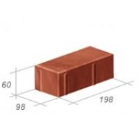 Плитка тротуарная «кирпичик» 6-ка 200*100*60 1м/кВ-50 (арт. 3002)