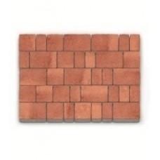 Плитка тротуарная «кирпичик» 6-ка 20 наборов в м/кв (арт. 3003)