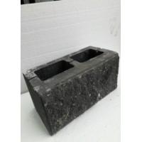 Камень декоративный заборный (ломанный) 390*190*190 (арт. 3004)