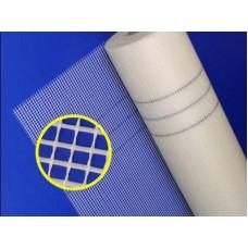 Сетка штукатурная стеклянная ячейка 5х5мм плотность 160г/м2 (1рул- 10м2) (арт.1710)
