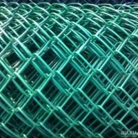 Сетка рабица с ПВХ покрытием выс. 1м. яч. 50х50, Ø проволоки - 2,4 мм в рулоне 10 м/п (арт. 1449)