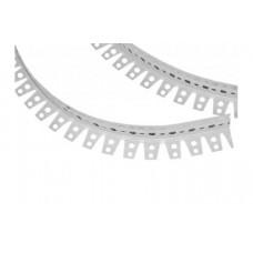Угол арочный ПВХ перфорированный 25x25x3000 мм (арт.1002)
