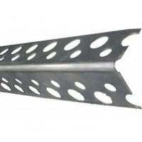 Профиль угловой защитный ПУ оцинкованный 20x20 3м. (арт.1000)