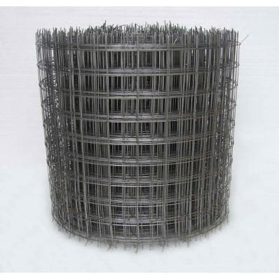 Сетка сварная неоцинк. в рулоне D1,5 яч.50х60 рулон 0,25x50м (арт. 1029)