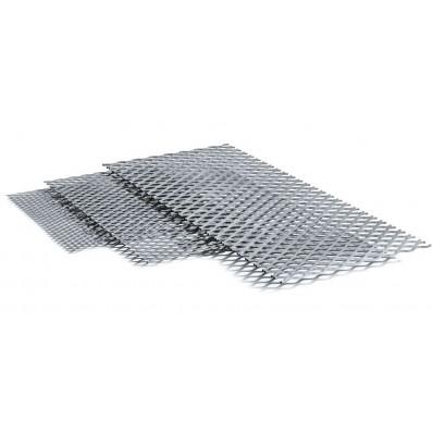 Сетка просечно-вытяжная (ПВС) оцинкованная 0,5мм; яч. 25х60; (1х10м) (арт. 1028)